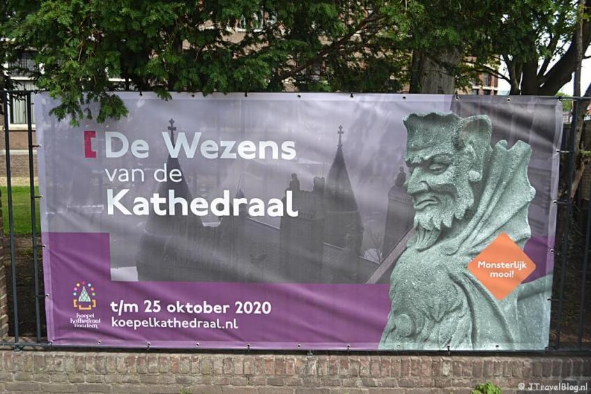 'De Wezens van de Kathedraal' in de Koepelkathedraal in Haarlem
