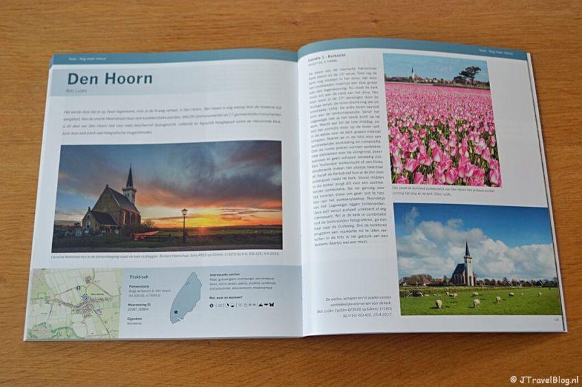 Den Hoorn in het boek 'De mooiste fotolocaties van Texel'