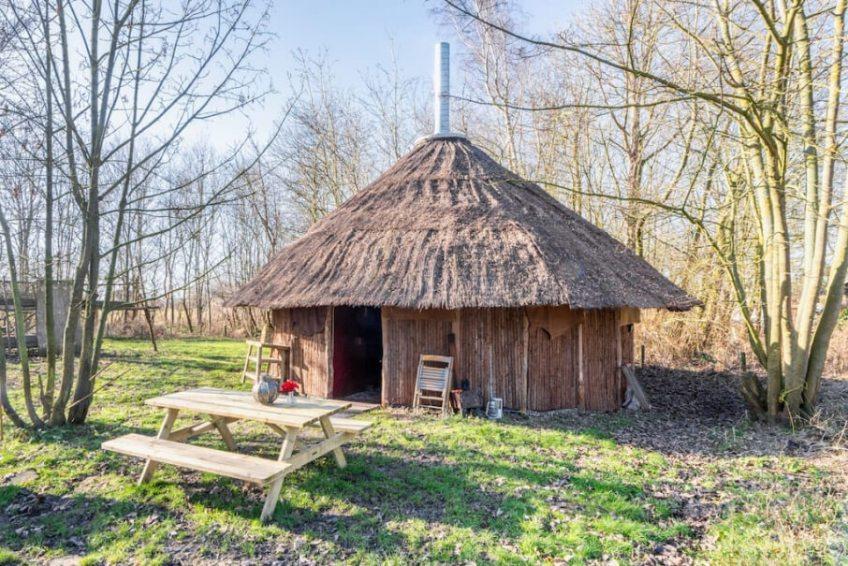Ecologisch natuurhuisje in Schagerbrug/Noord-Holland via Natuurhuisje.nl
