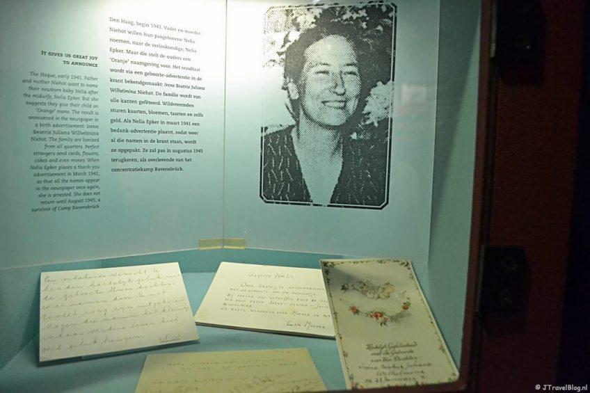 De tentoonstelling Nederland in de Tweede Wereldoorlog in het Verzetsmuseum in Amsterdam
