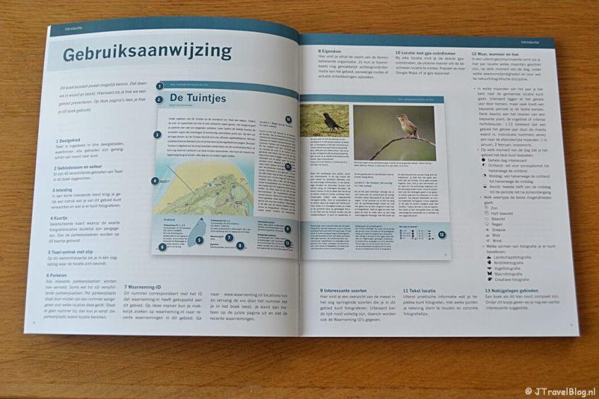 De gebruiksaanwijzing van het boek 'De mooiste fotolocaties van Texel'