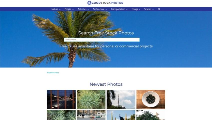 Goodstockphotos: een website met gratis afbeeldingen