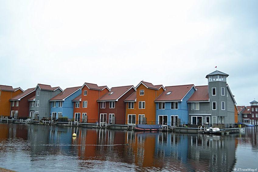 Reitdiephaven in Groningen in januari 2018.