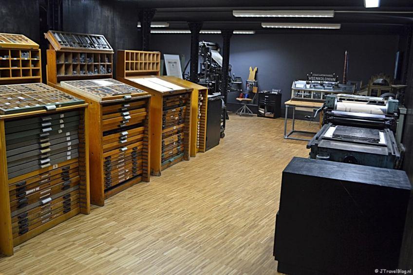 In het GRID Grafisch Museum in Groningen