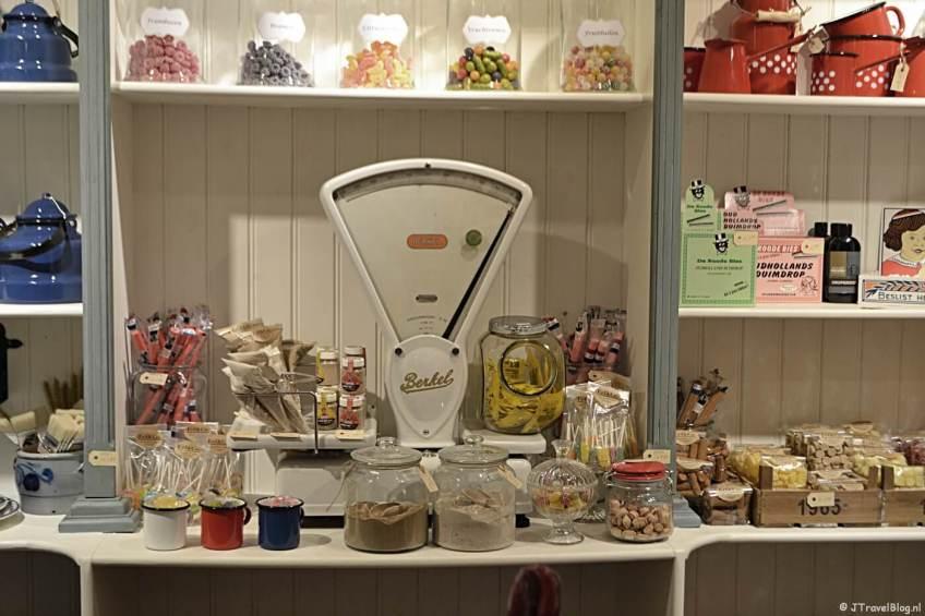 Ouderwets snoepgoed in Eef & Co in Haarlem