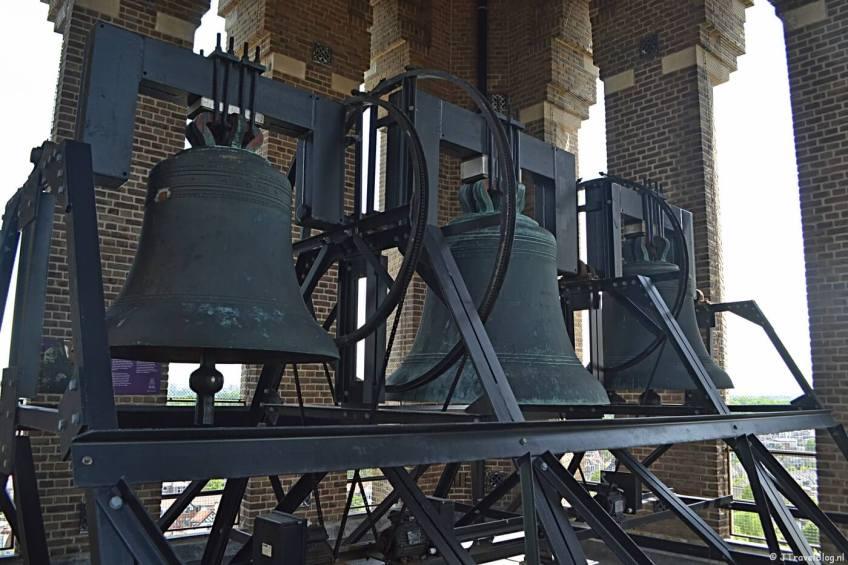 De klokken in de mannentoren van de KoepelKathedraal in Haarlem