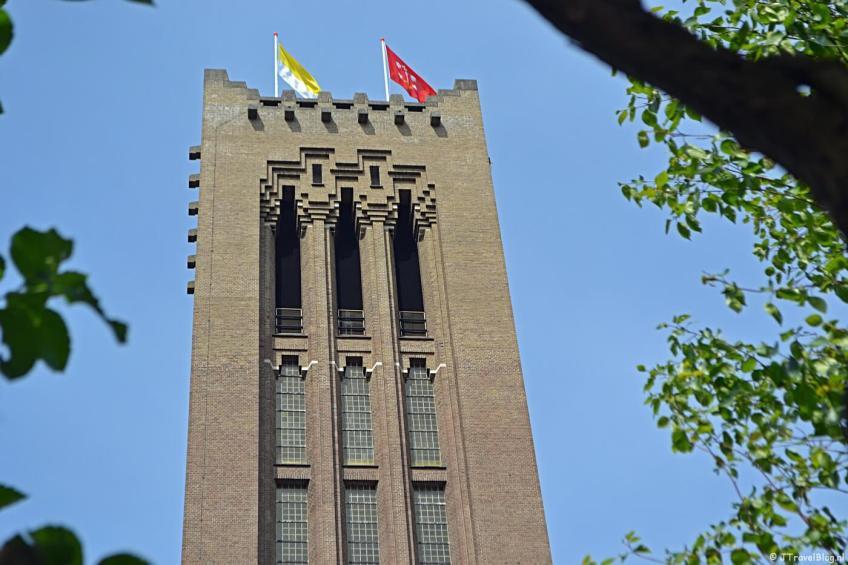 De Mannentoren van de KoepelKathedraal in Haarlem