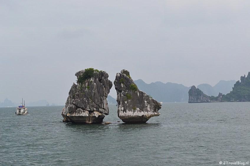 Halong Bay in Vietnam op de Werelderfgoedlijst van UNESCO