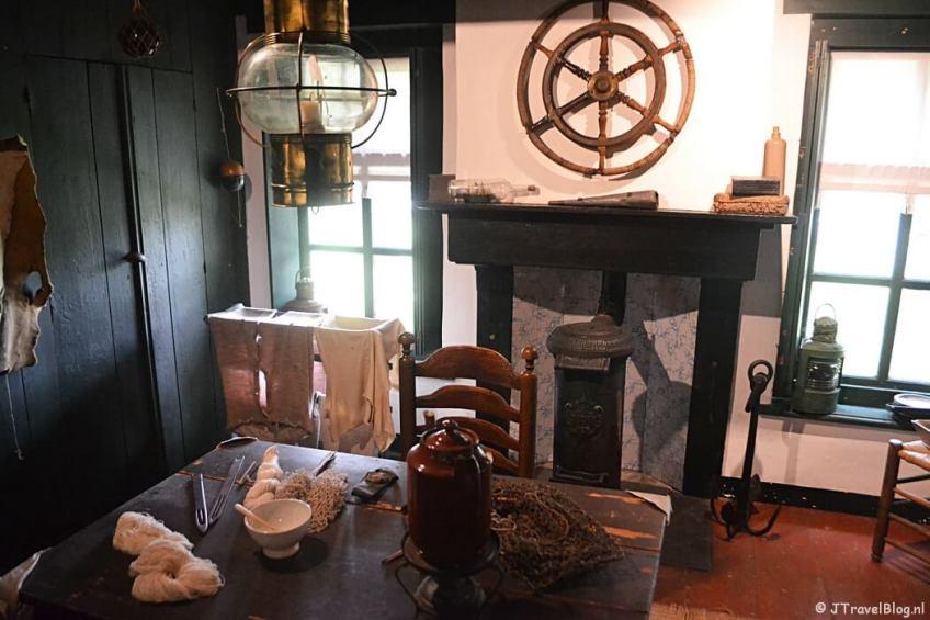 Het dijkhuis in Openluchtmuseum Het Hoogeland in Warffum
