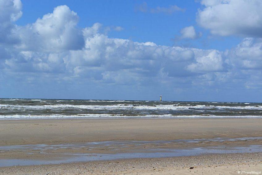 Het strand in De Koog op Texel