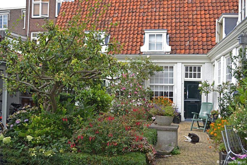 Hofje van Guurtje de Waal aan de Lange Annastraat in Haarlem