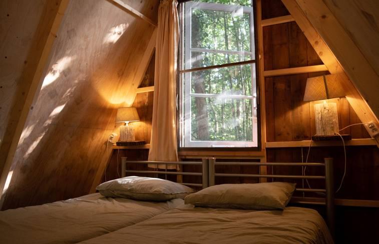 Cabin in Mussel/Groningen via Natuurhuisje.nl