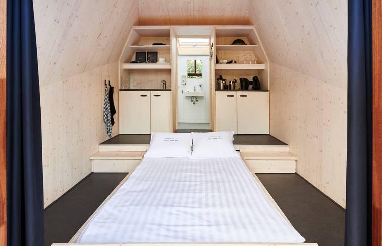 Tiny House in Riel/Noord-Brabant via Natuurhuisje.nl