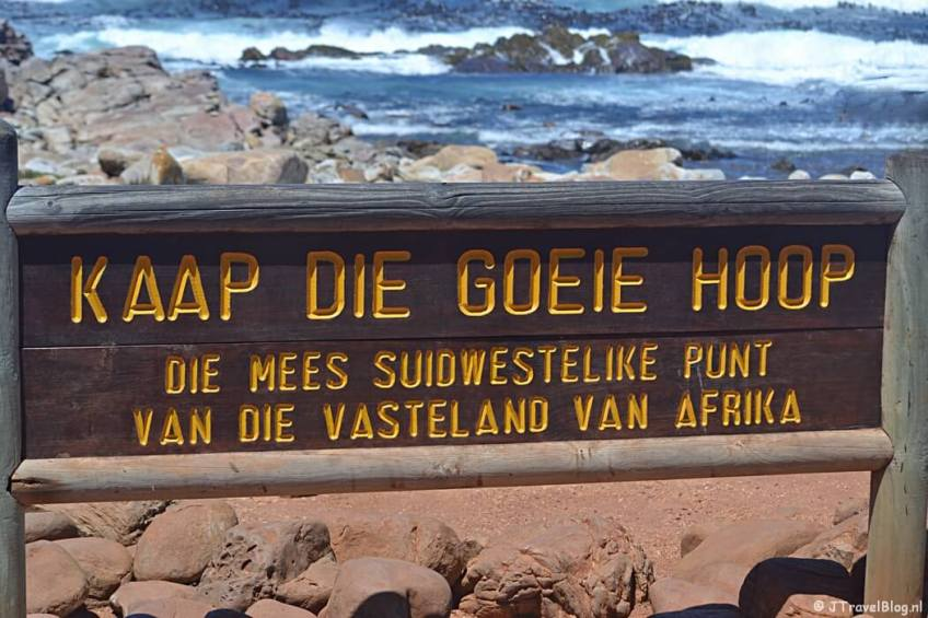Kaap de Goede Hoop in Zuid-Afrika
