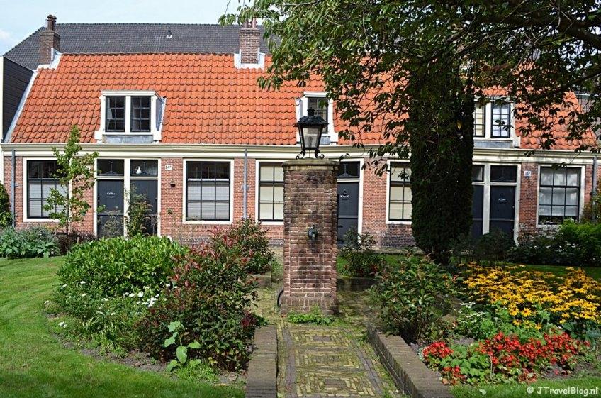Luthers Hofje aan de Witte Herenstraat in Haarlem