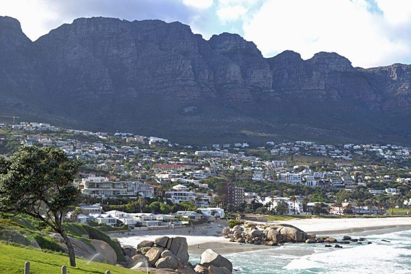 Maiden Cove op het Kaapse Schiereiland in Zuid-Afrika