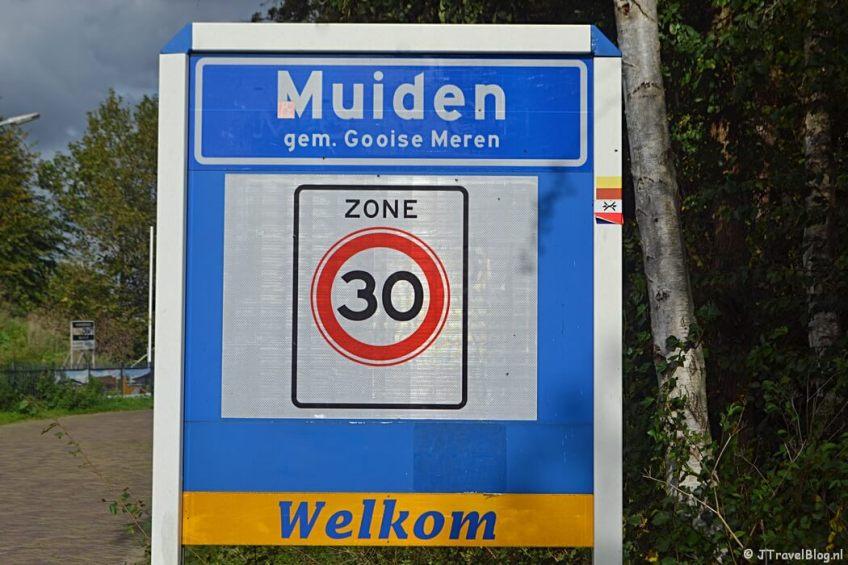 Muiden tijdens de 3e etappe van het Westerborkpad