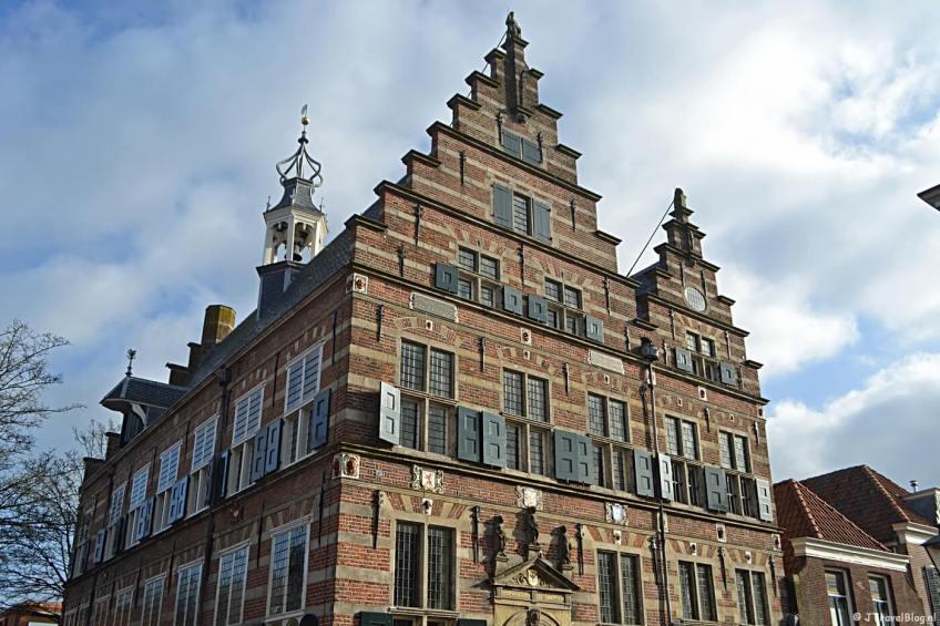 Het stadhuis van Naarden