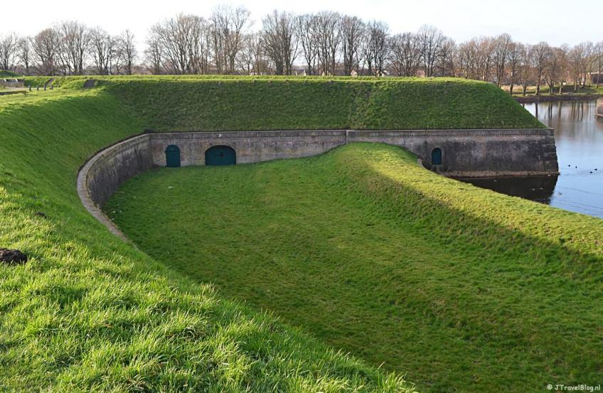 Bastion Nieuwe Molen in Naarden