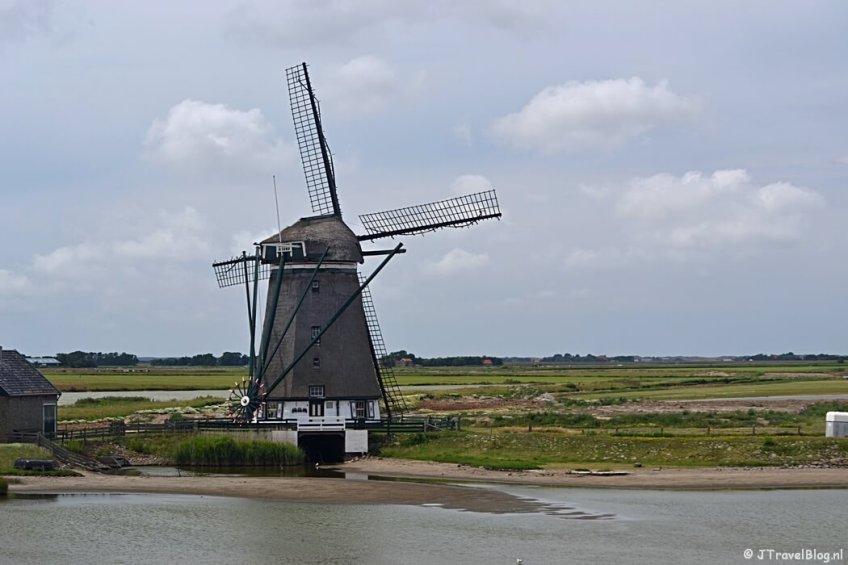 Natuurgebied De Bol en Molen het Noorden op Texel