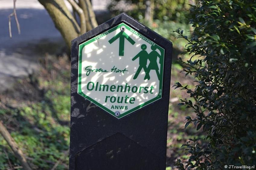 De Olmenhorstroute in Lisserbroek/Haarlemmermeer