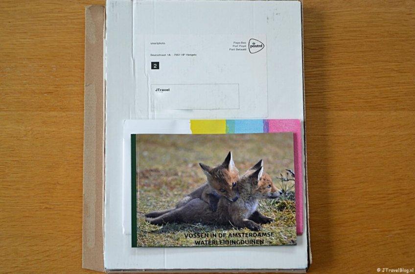 Mijn pakketje met het Fotoboek M van Smartphoto.nl