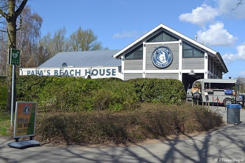 Papa's Beach House in het Haarlemmermeerse Bos in Hoofddorp tijdens de Trage Tocht Vijfhuizen