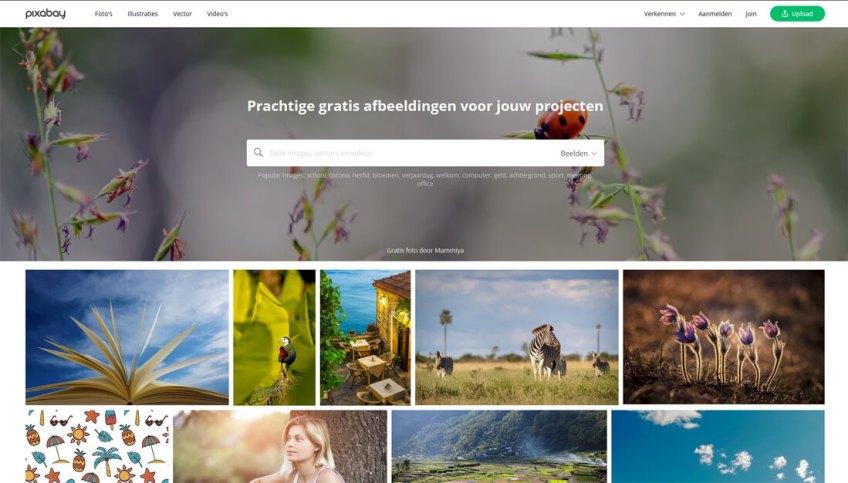 Pixabay: een website met gratis afbeeldingen
