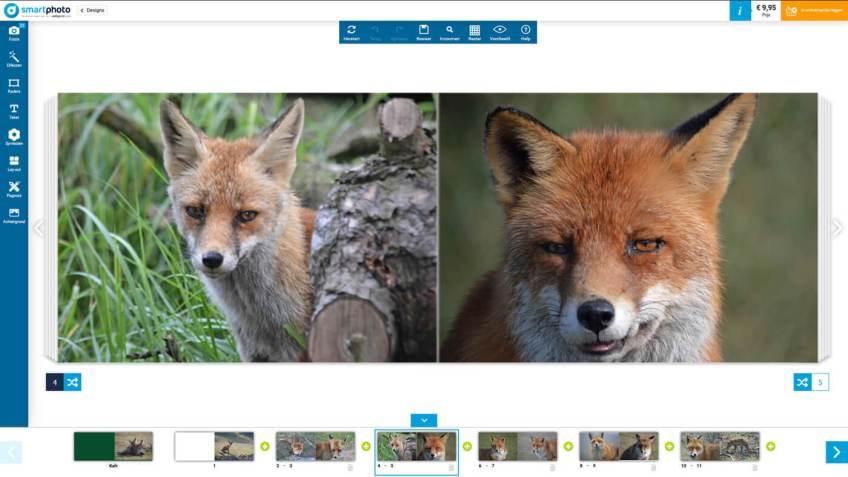 Preview van mijn Fotoboek M van Smartphoto.nl