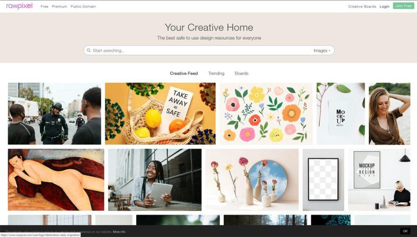 Rawpixel: een website met gratis afbeeldingen