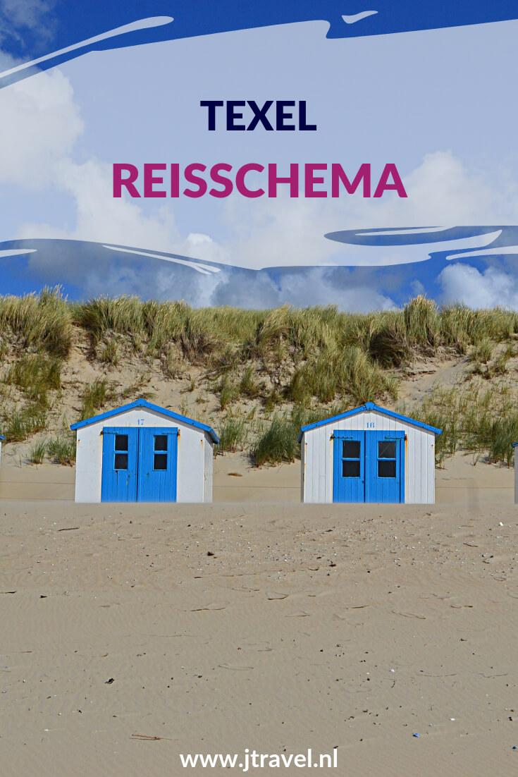 Mijn complete reisschema van dag tot dag van mijn 10-daagse verblijf op Texel lees je hier. Lees je mee? #texel #nederland #waddeneiland #reisschema #jtravel #jtravelblog