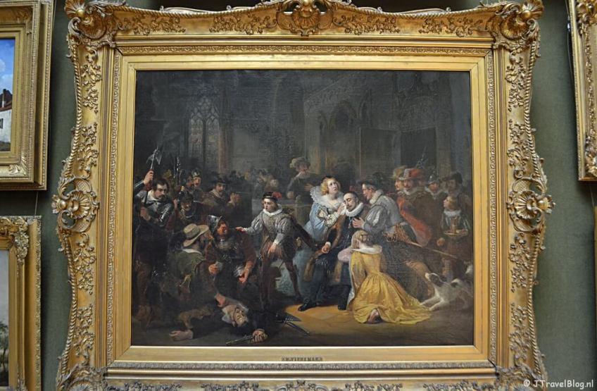 De Eerste Schilderijenzaal van het Teylers Museum in Haarlem