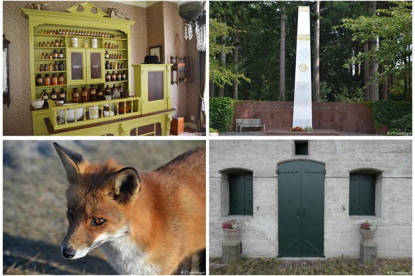 September 2021: Openluchtmuseum Het Hoogeland in Warffum, Etappe 9 van het Westerborkpad, een wandeling in de Amsterdamse Waterleidingduinen en het Fortenpad van Wandelnetwerk Amstelland
