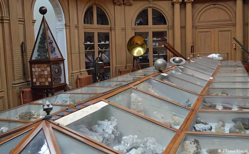 De Ovale Zaal van het Teylers Museum in Haarlem