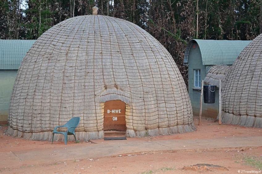 De beehive in Mlilwane Wildlife Sanctuary in Swaziland