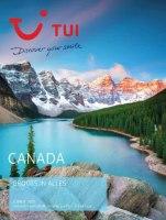 Gratis de Canada reisgids bestellen bij TUI