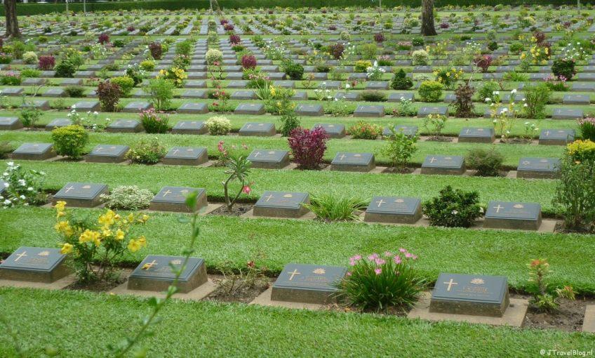 Begraafplaats in Kanchanaburi