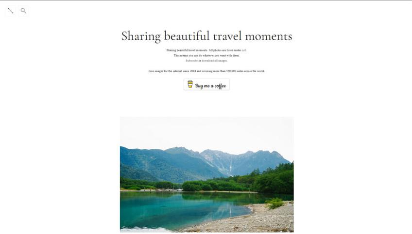 Travel Coffee Book: een website met gratis afbeeldingen
