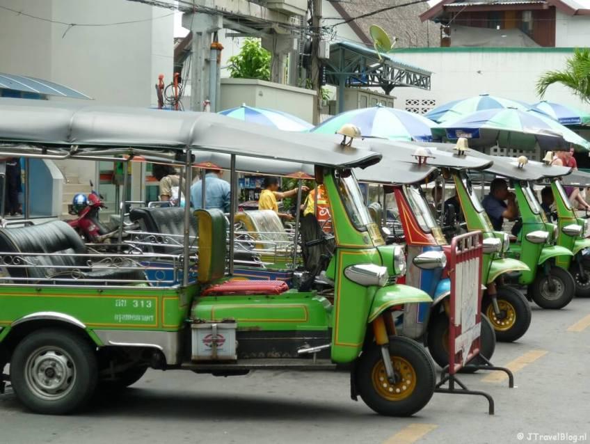 Tuk-tuks in Bangkok