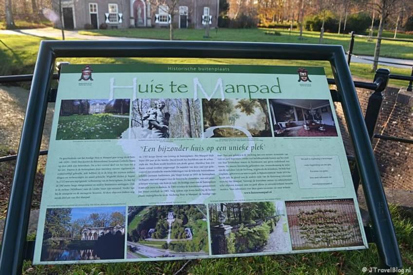 Uitleg over het Huis te Manpad in Heemstede