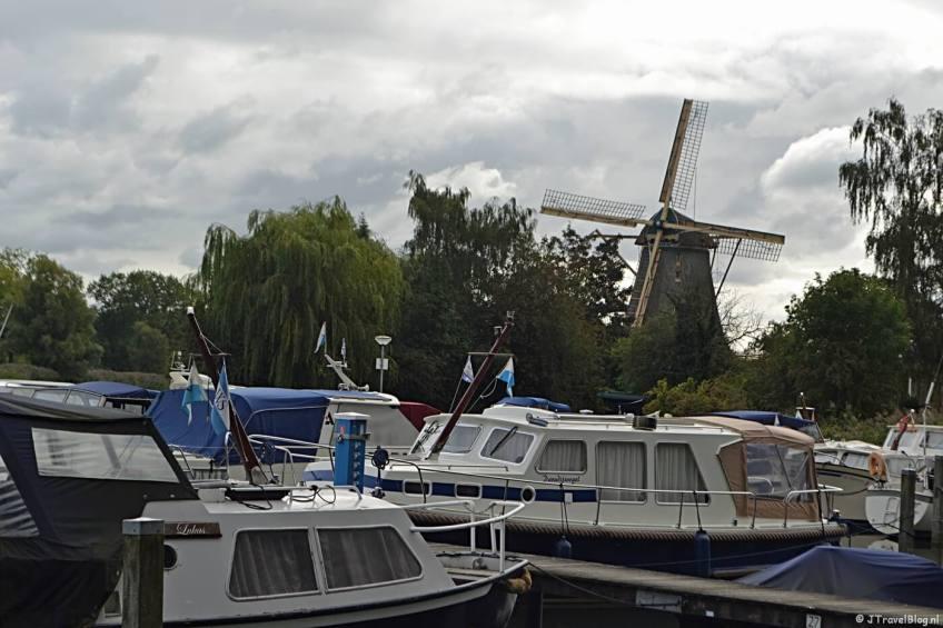 Jachthaven 'WSV de Vecht' in Weesp