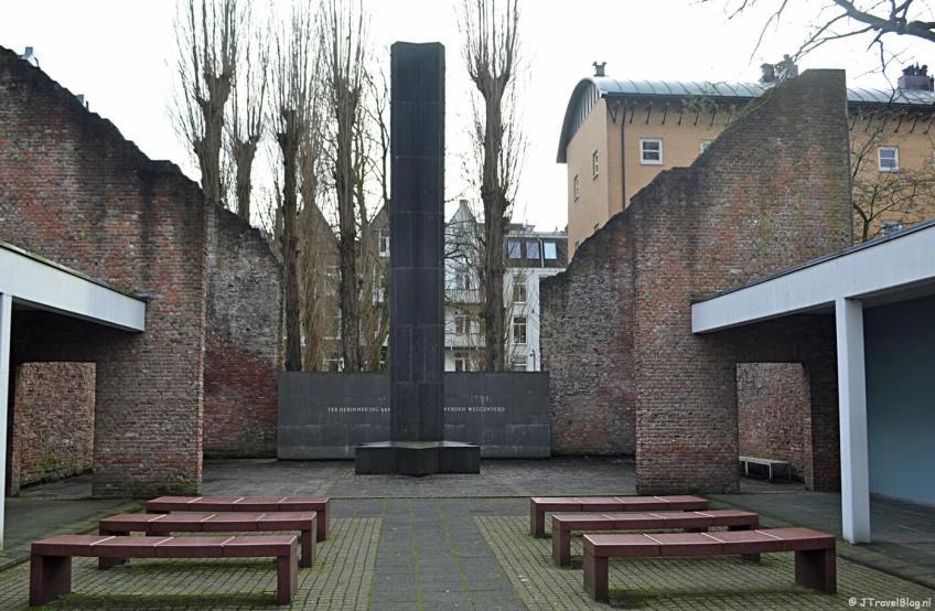 De Hollandsche Schouwburg in Amsterdam, een museum bezocht met mijn museumkaart 2020