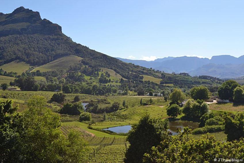 De wijnlanden rond Kaapstad