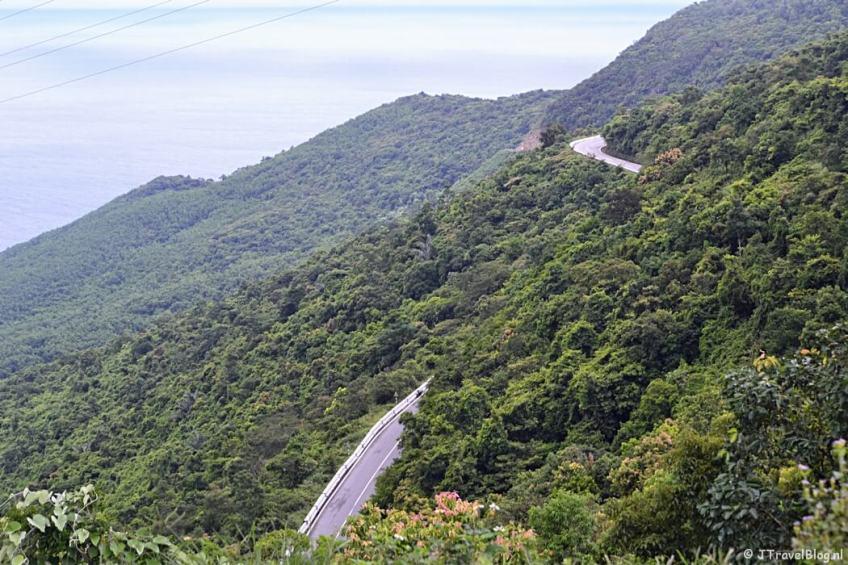 De Wolkenpas/Hai Van Pass in Vietnam