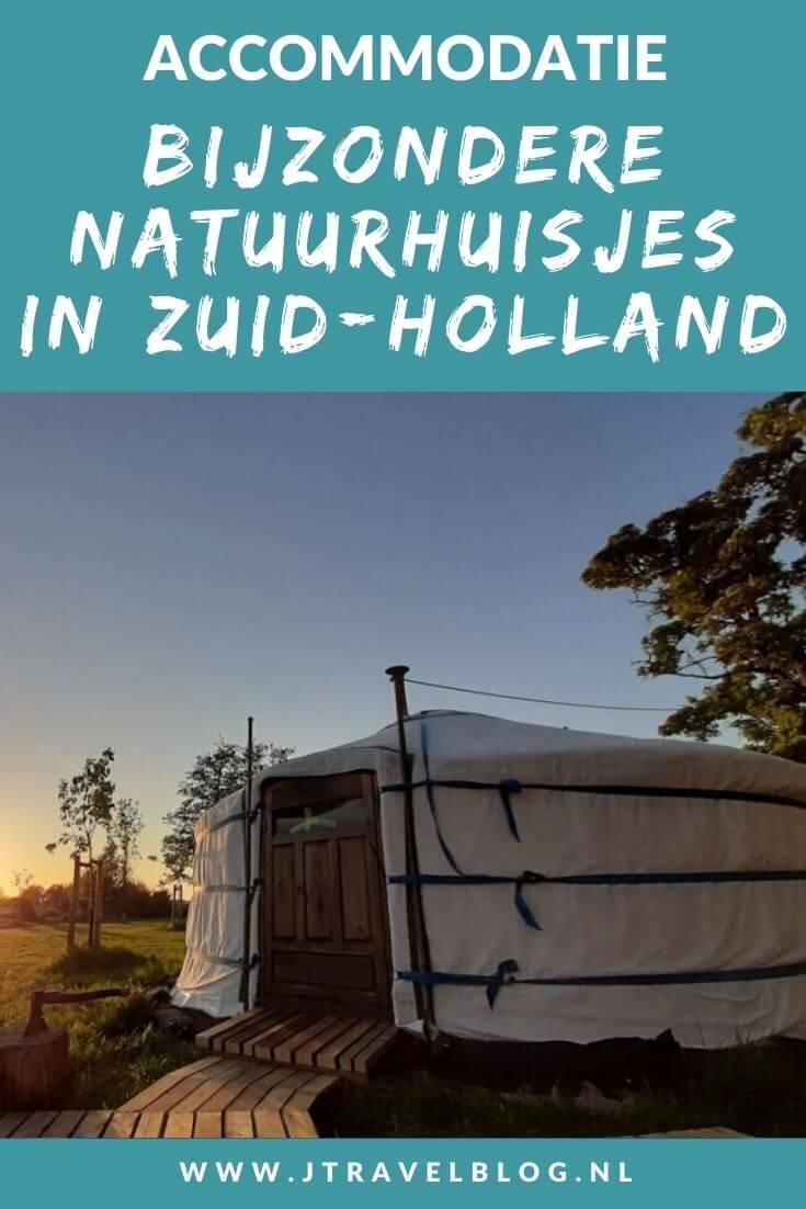 Ik heb een aantal bijzondere natuurhuisjes in de provincie Zuid-Holland voor je op een rijtje gezet. Het zijn stuk voor stuk unieke accommodaties, veelal gelegen in de natuur. #natuurhuisjes #zuidholland #accommodatie #jtravel #jtravelblog