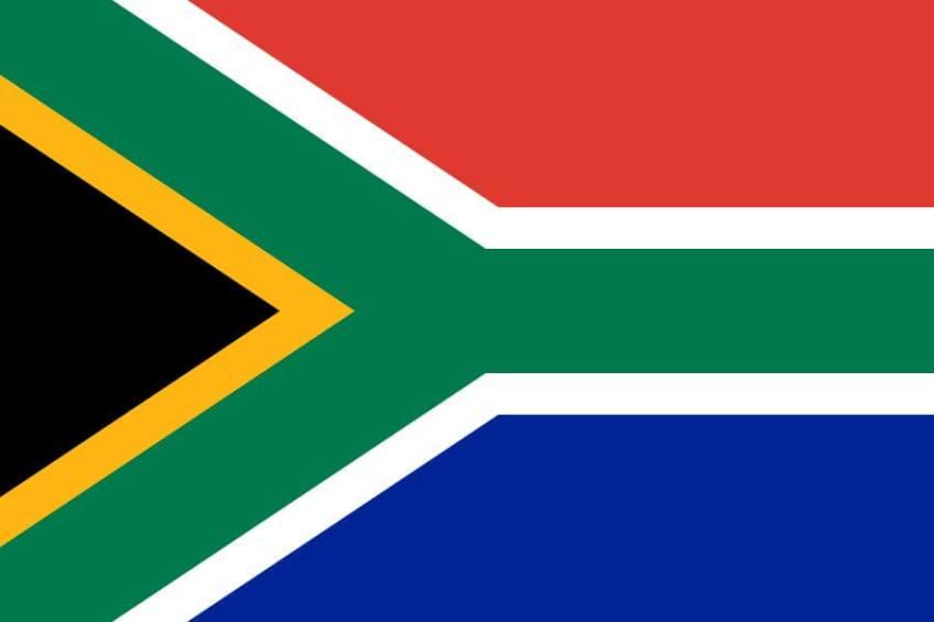 De Zuid-Afrikaanse vlag
