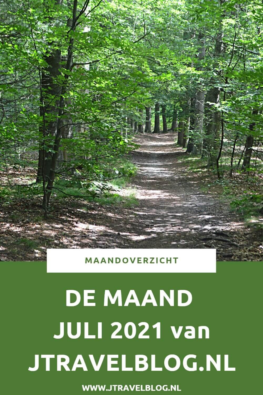 In juli 2021 liep ik de Vrijheidswandeling en korte Beeldenwandeling in Haarlem, liep ik een etappe van het Westerborkpad van Station Hilversum Sportpark naar Station Baarn, maakte ik een mooie wandeling in de Amsterdamse Waterleidingduinen en fietste ik de Mandpadroute. Meer hier over lees je in dit maandoverzicht. #maandoverzicht #juli2021 #westerborkpad #amsterdamsewaterleidingduinen #wandelen #fietsen #haarlem #vrijheidswandeling #beeldenwandeling #mandpadroute #jtravel #jtravelblog