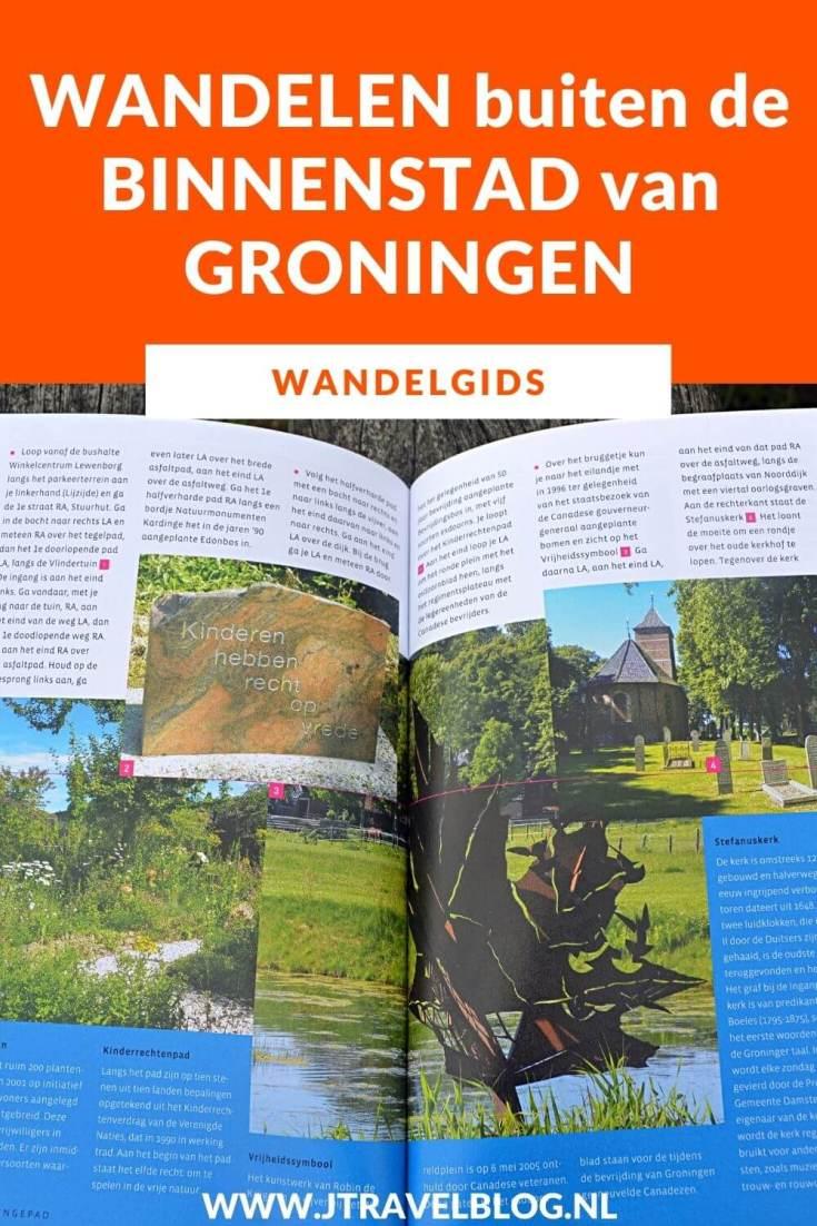 De wandelgids 'Wandelen buiten de binnenstad van Groningen' bevat 10 rondwandelingen van 10 tot 16 kilometer rond de binnenstad en het landelijk gebied daarbuiten. Wandel je mee? #wandelgids #wandelen #hiken #gegarandeerdonregelmatig #groningen #jtravel #jtravelblog