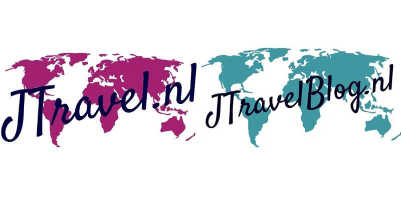 De logo's van mijn beide websites: www.jtravel.nl en www.jtravelblog.nl