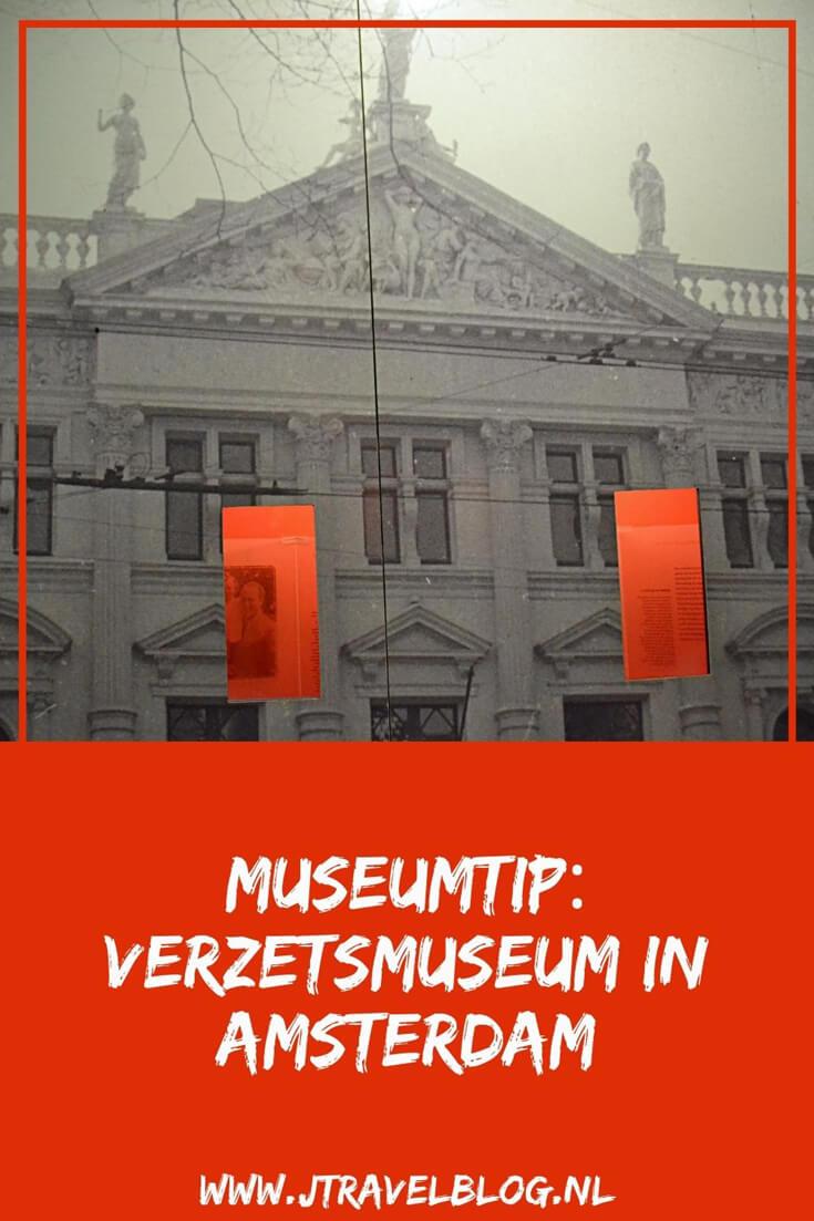 Ik bezocht het indrukwekkende Verzetsmuseum in Amsterdam. In het Verzetsmuseum zie, hoor en lees je de verhalen over het uitzonderlijke en het alledaagse tijdens de Tweede Wereldoorlog. De tentoonstelling gaat niet alleen over verzet, maar geeft je ook een beeld van de samenleving waarin het verzet heeft plaatsgevonden. Meer lees je in dit artikel. Lees je mee? #verzetsmuseum #amsterdam #tweedewereldoorlog #museum #museumkaart #jtravel #jtravelblog